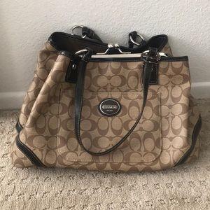 Large Coach Handbag